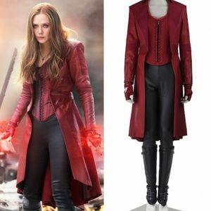 Scarlet Witch Wanda Maximoff Cosplay